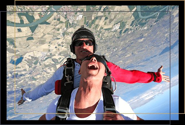 Regalo lancio tandem paracadute